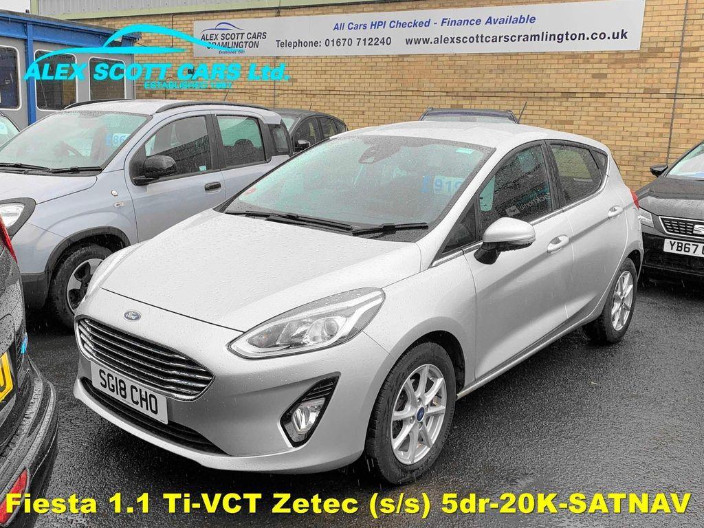 Ford Fiesta Hatchback 1.1 Ti-VCT Zetec (s/s) 5dr