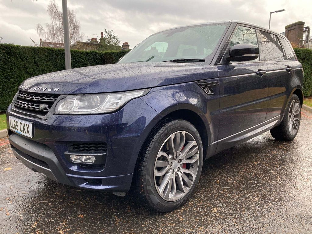 Land Rover Range Rover Sport SUV 5.0 V8 Supercharged Autobiography Dynamic 4X4 (s/s) 5dr