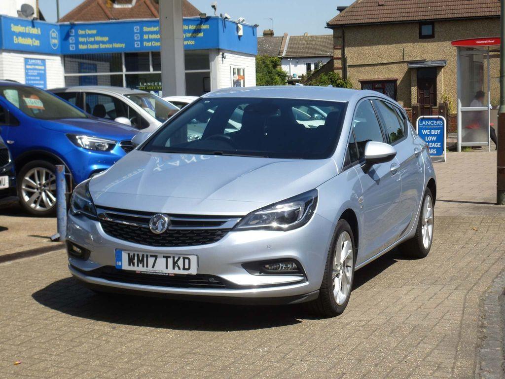 Vauxhall Astra Hatchback 1.4i Turbo SRi Nav Auto (s/s) 5dr