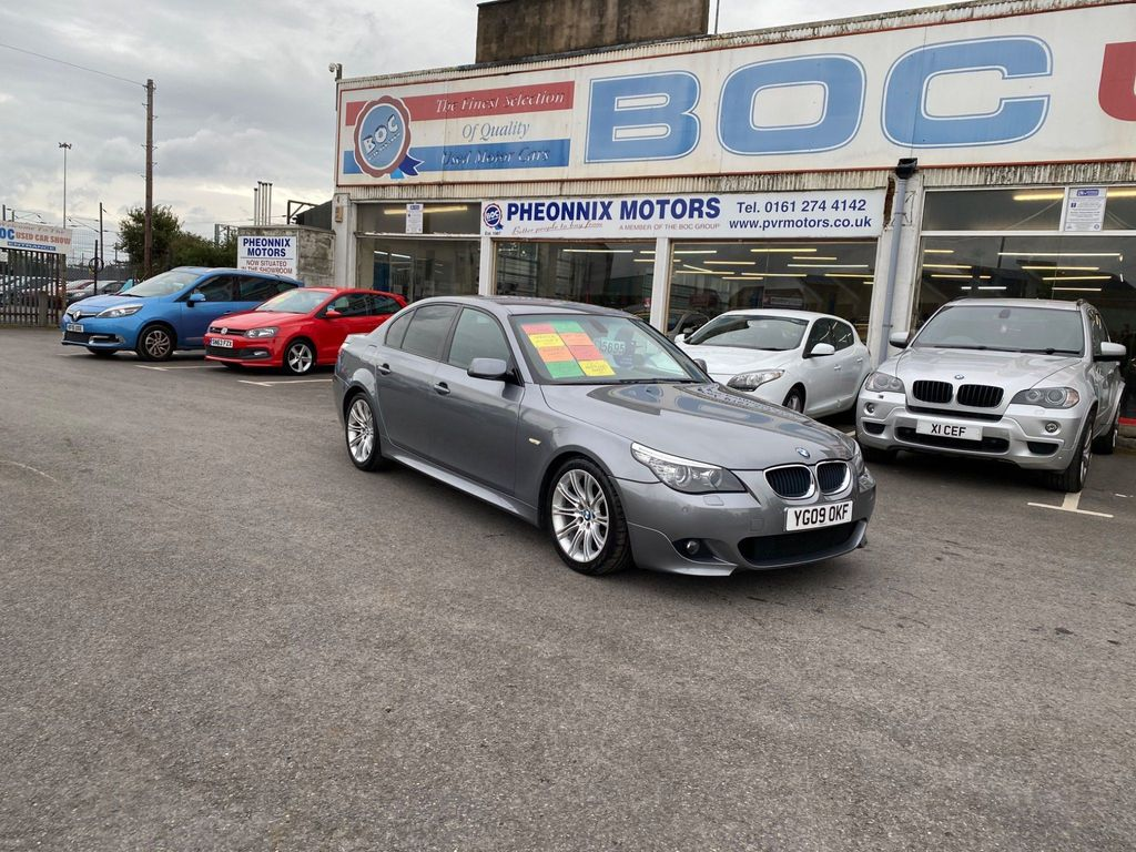 BMW 5 Series Saloon 2.0 520d M Sport 4dr