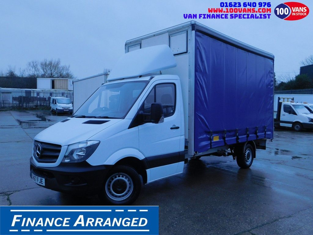 Mercedes-Benz Sprinter Curtain Side 2.1CDI 140PS EURO 6 ULEZ FREE F/S/H