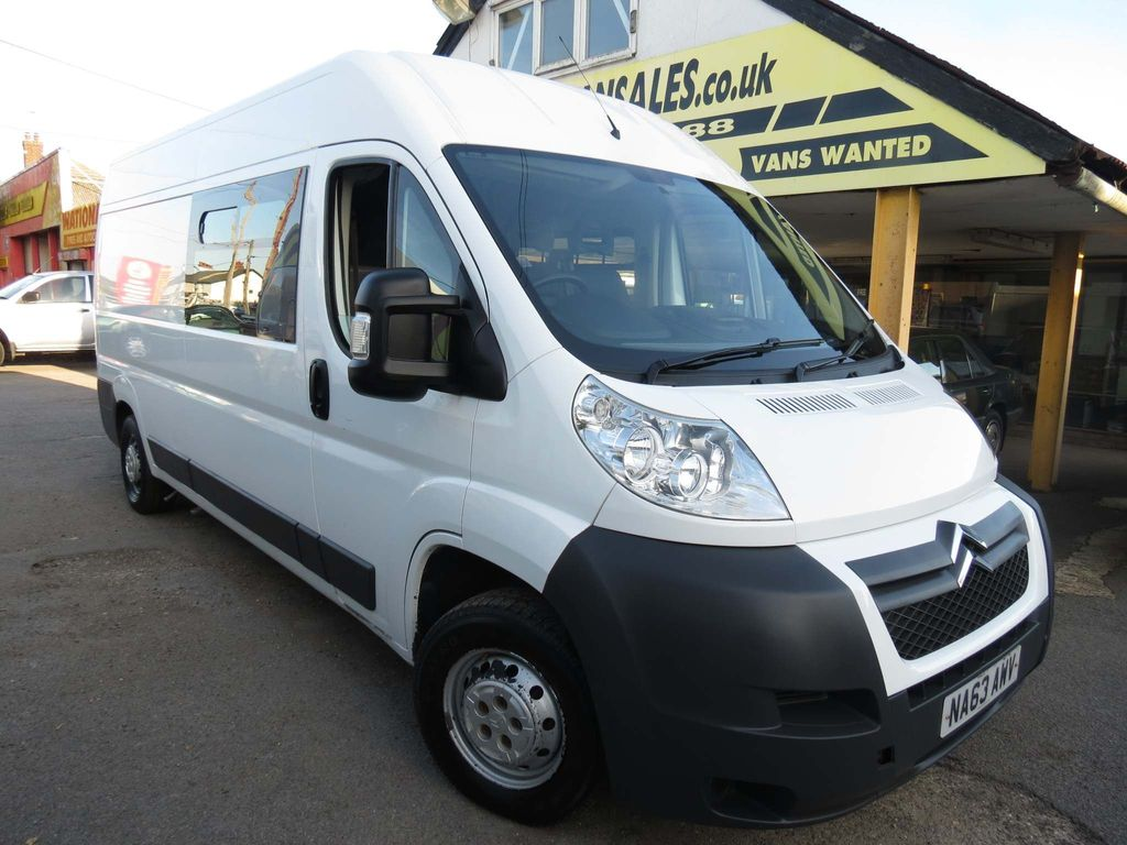 Citroen Relay Combi Van 8 SEATER WELFARE CREW MESS VAN LWB