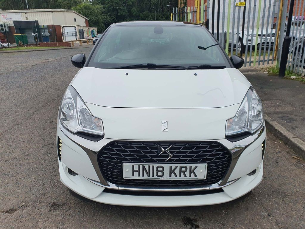 DS AUTOMOBILES DS 3 Hatchback 1.2 PureTech Connected Chic EAT6 (s/s) 3dr