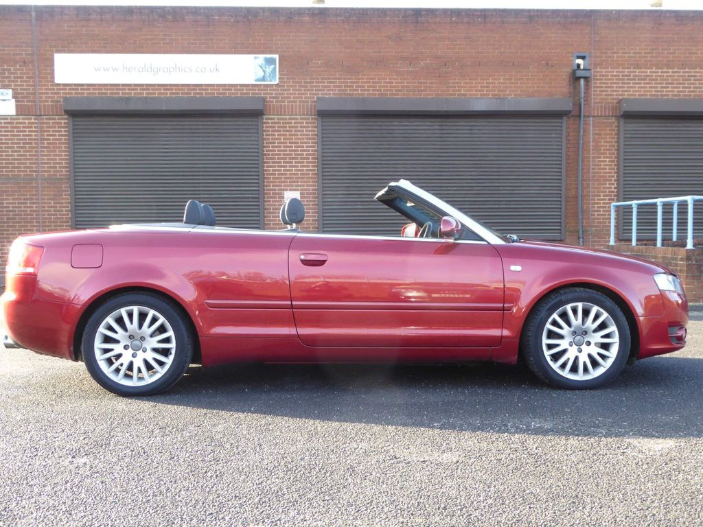 Used Audi A4 Cabriolet Convertible 2 0 Tfsi Cabriolet Multitronic 2dr In Reading Berkshire Firstline Cars Ltd