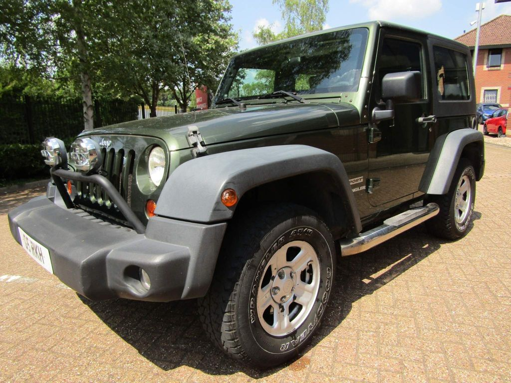 Jeep Wrangler Unlisted 3.8 V6 SPORT 4X4 CONVERTIBLE 2DR