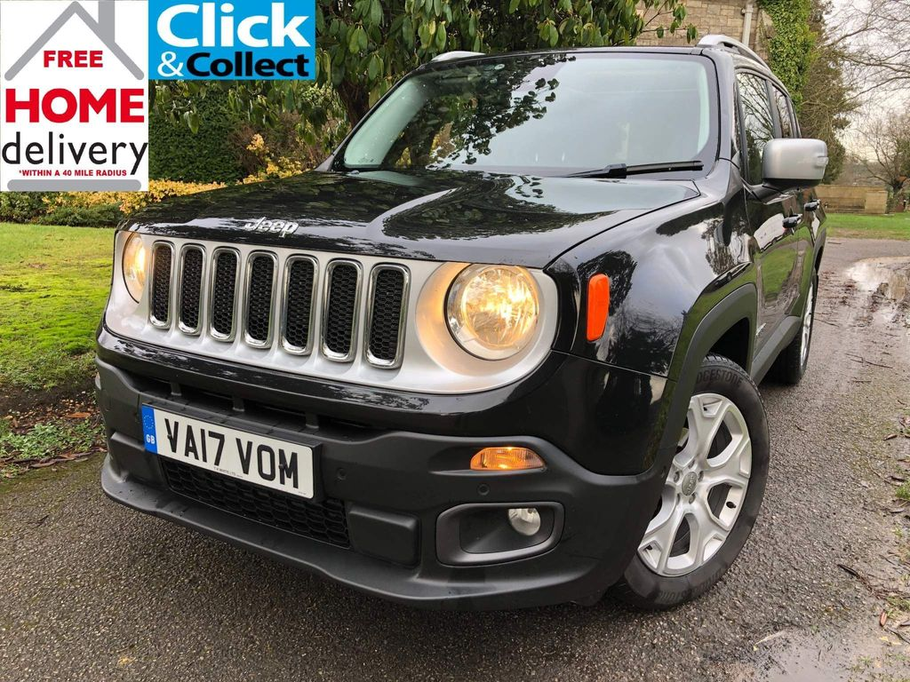 Jeep Renegade SUV 1.6 MultiJetII Limited DDCT (s/s) 5dr
