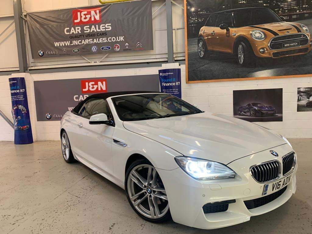 BMW 6 Series Convertible 3.0 640d M Sport Steptronic 2dr