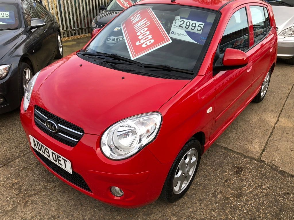 Kia Picanto Hatchback 1.1 Red 5dr