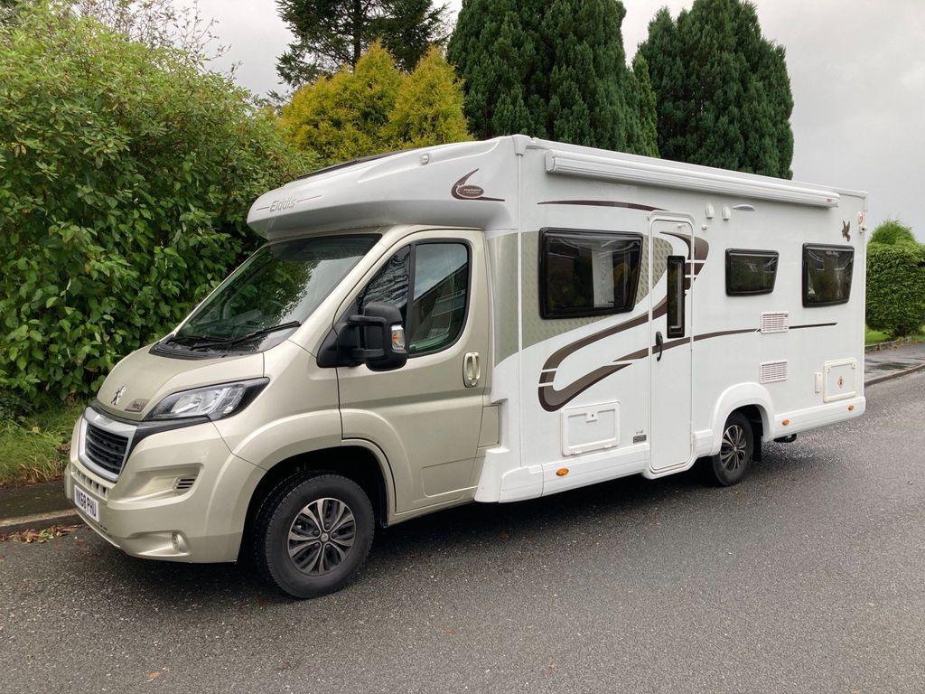 Elddis Autoquest 196 Coach Built ARAMIS LOW 2500 MILES DELIVERY POSSIBLE