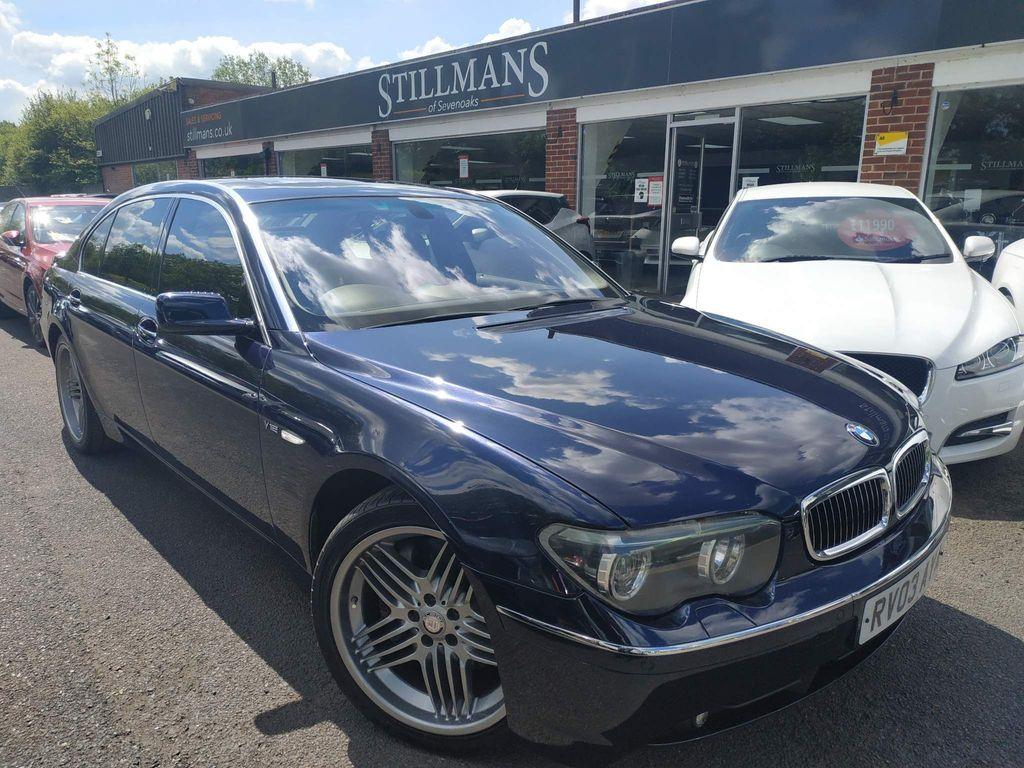BMW 7 Series Saloon (E66) 760LI 6.0 V12 (PREMIUM)