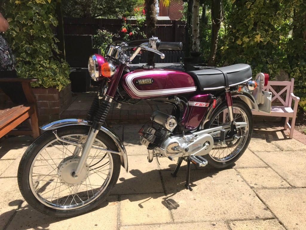 Yamaha FS1 Moped 50