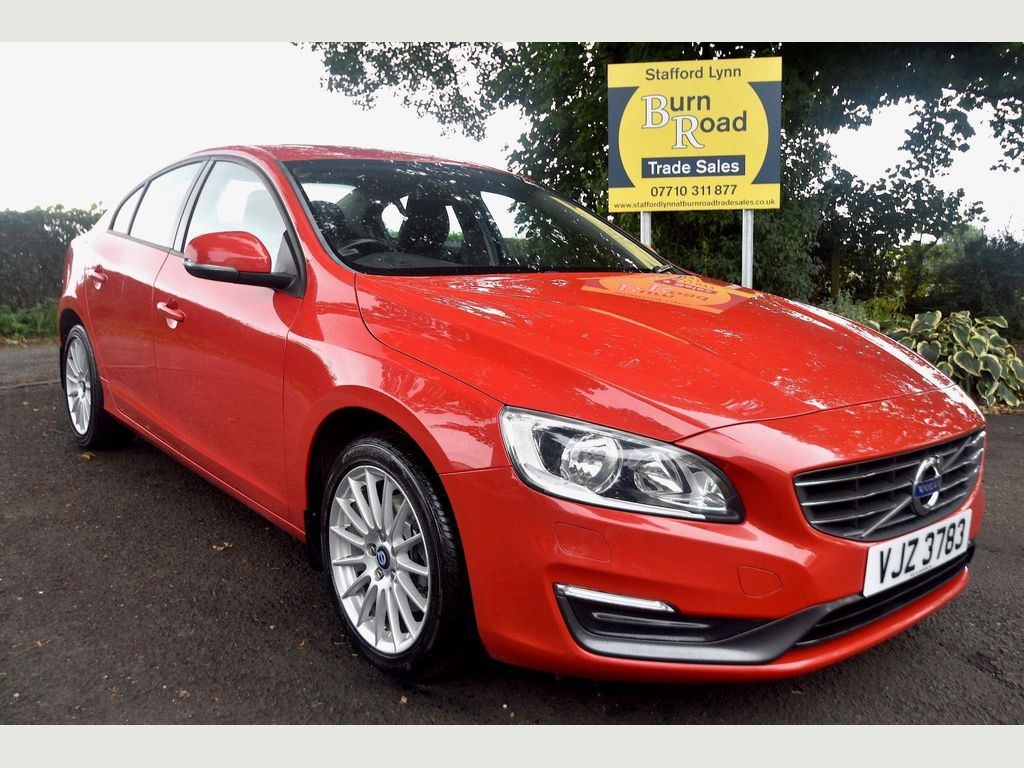 Volvo S60 Saloon 2.0 D3 Business Edition Geartronic (s/s) 4dr