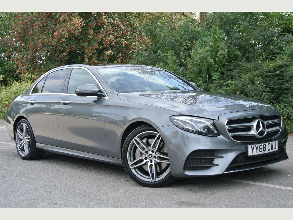 Mercedes-Benz E Class Saloon 3.0 E350d V6 AMG Line (Premium Plus) G-Tronic+ (s/s) 4dr