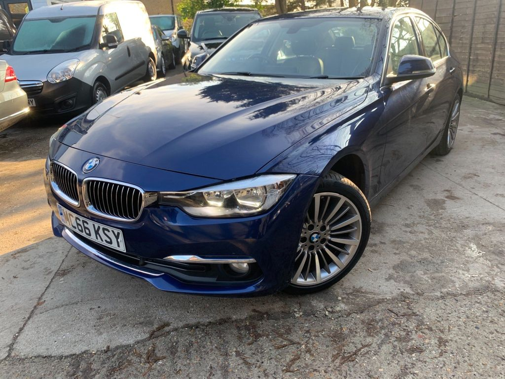 BMW 3 Series Saloon 2.0 320d BluePerformance Luxury Auto (s/s) 4dr
