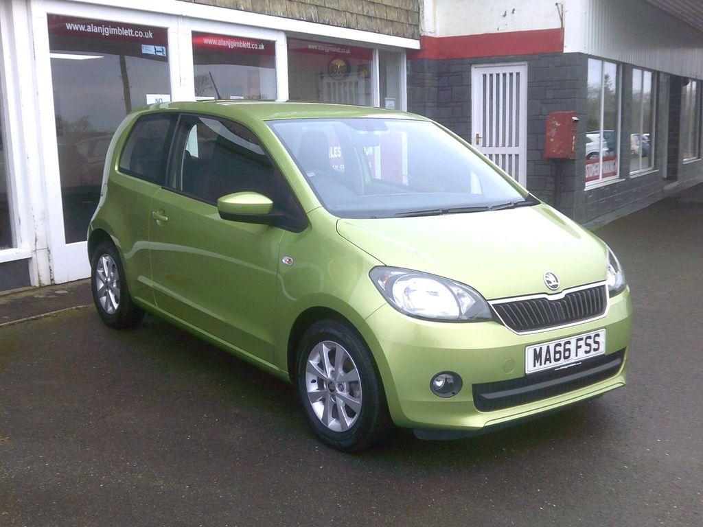 SKODA Citigo Hatchback 1.0 MPI GreenTech SE L 3dr