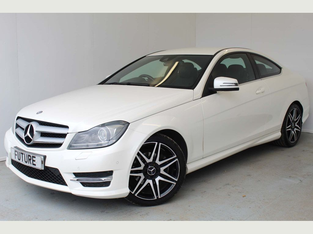 Mercedes-Benz C Class Coupe 1.8 C250 BlueEFFICIENCY AMG Sport Sport Coupe 7G-Tronic Plus 2dr
