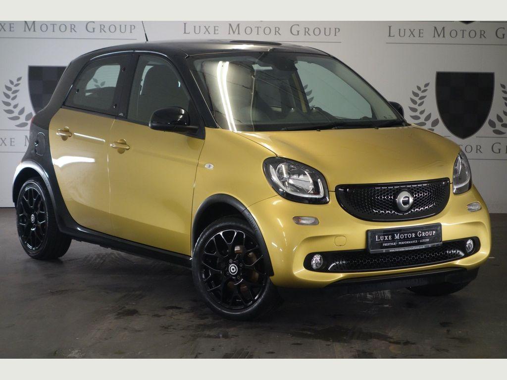 Smart forfour Hatchback 1.0 Prime Sport (Premium Plus) (s/s) 5dr