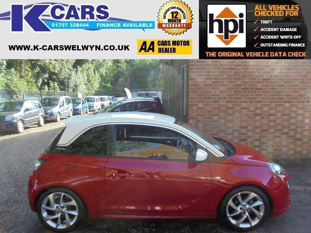 Vauxhall ADAM Hatchback 1.4 ecoFLEX 16v SLAM (s/s) 3dr