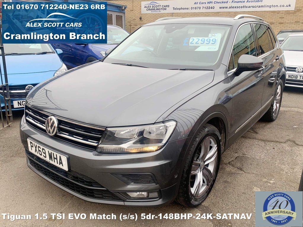 Volkswagen Tiguan SUV 1.5 TSI EVO Match (s/s) 5dr