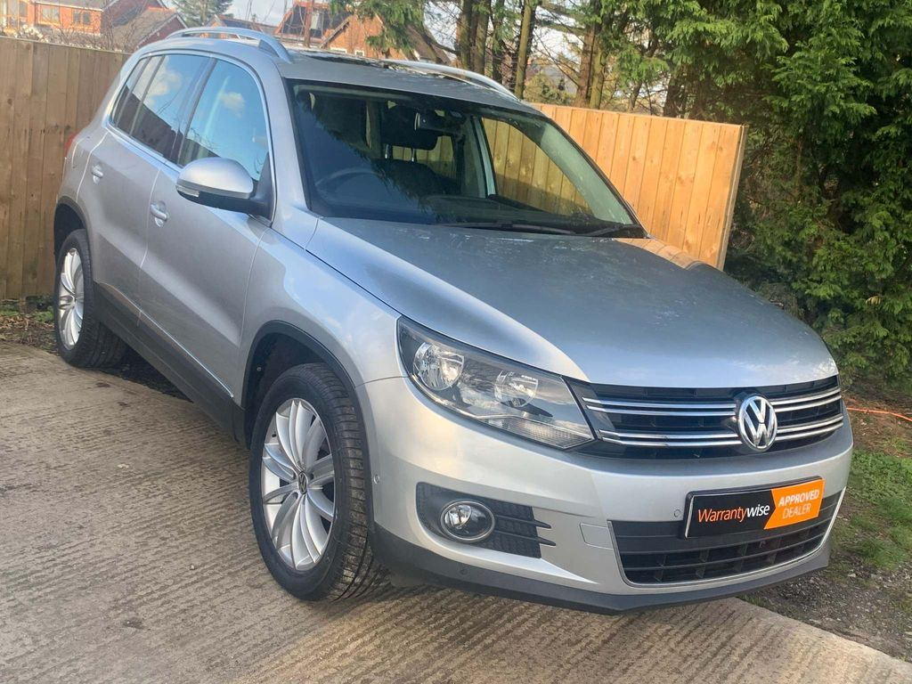 Volkswagen Tiguan SUV 2.0 TDI BlueMotion Tech Match Edition 4MOTION (s/s) 5dr