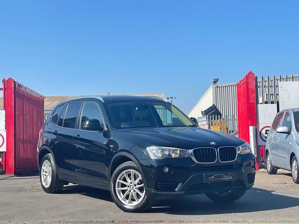 BMW X3 SUV 2.0 18d SE Auto sDrive 5dr