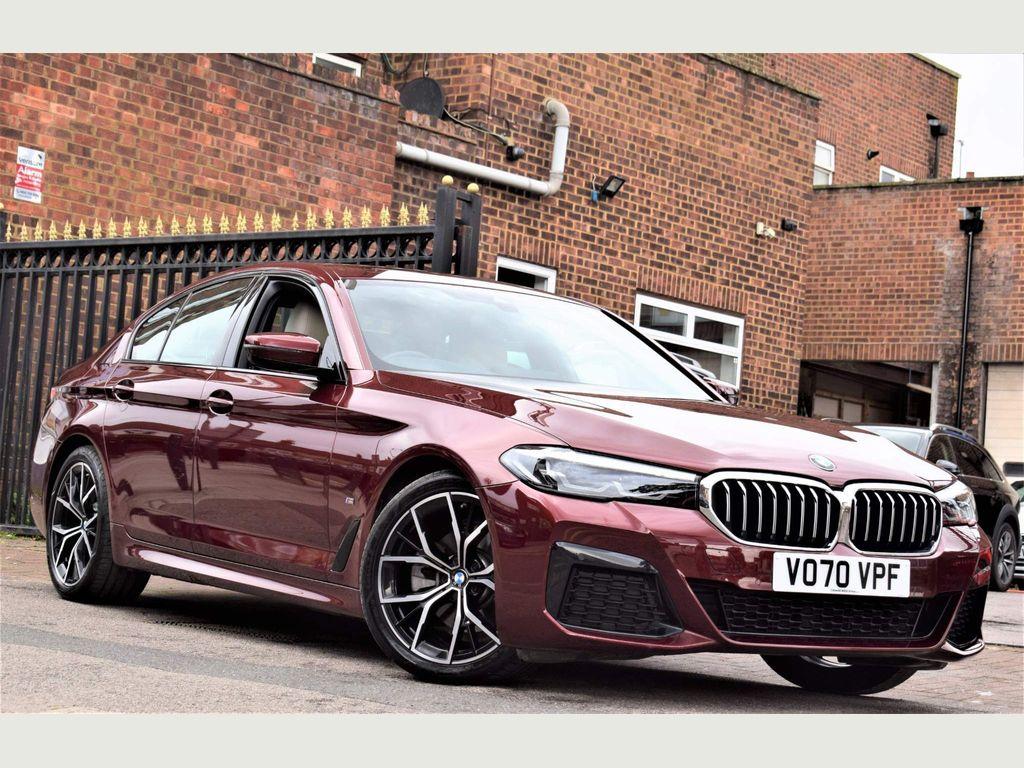 BMW 5 Series Saloon 2.0 520d MHT M Sport Steptronic (s/s) 4dr