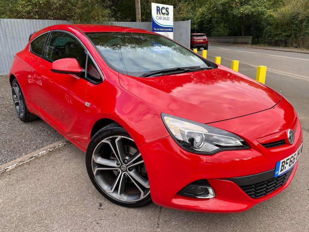 Vauxhall Astra GTC Coupe 1.6 CDTi ecoFLEX Limited Edition (s/s) 3dr