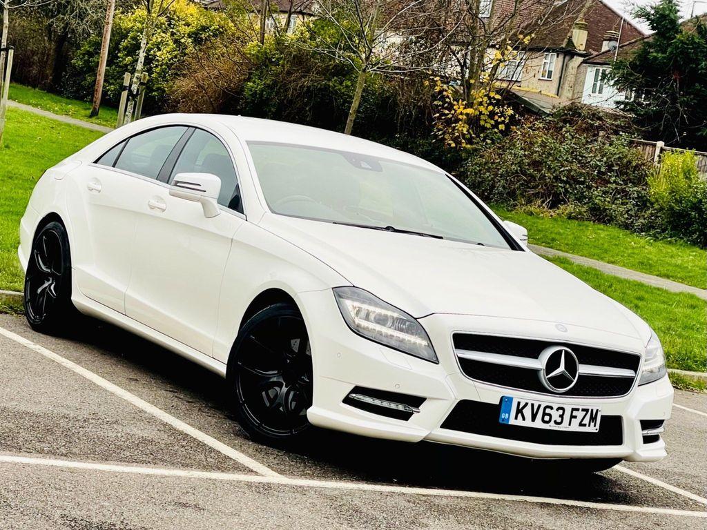 Mercedes-Benz CLS Coupe 3.5 CLS350 BlueEFFICIENCY AMG Sport 7G-Tronic Plus (s/s) 4dr