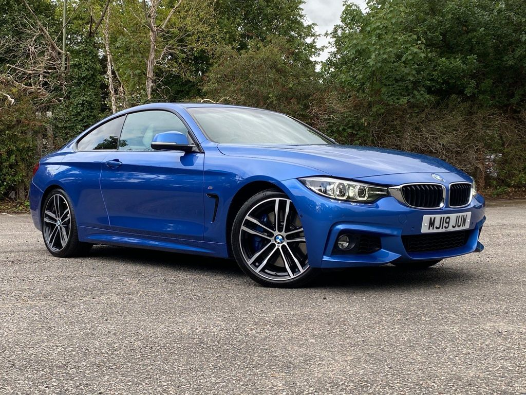 BMW 4 Series Coupe 3.0 440i GPF M Sport Auto (s/s) 2dr