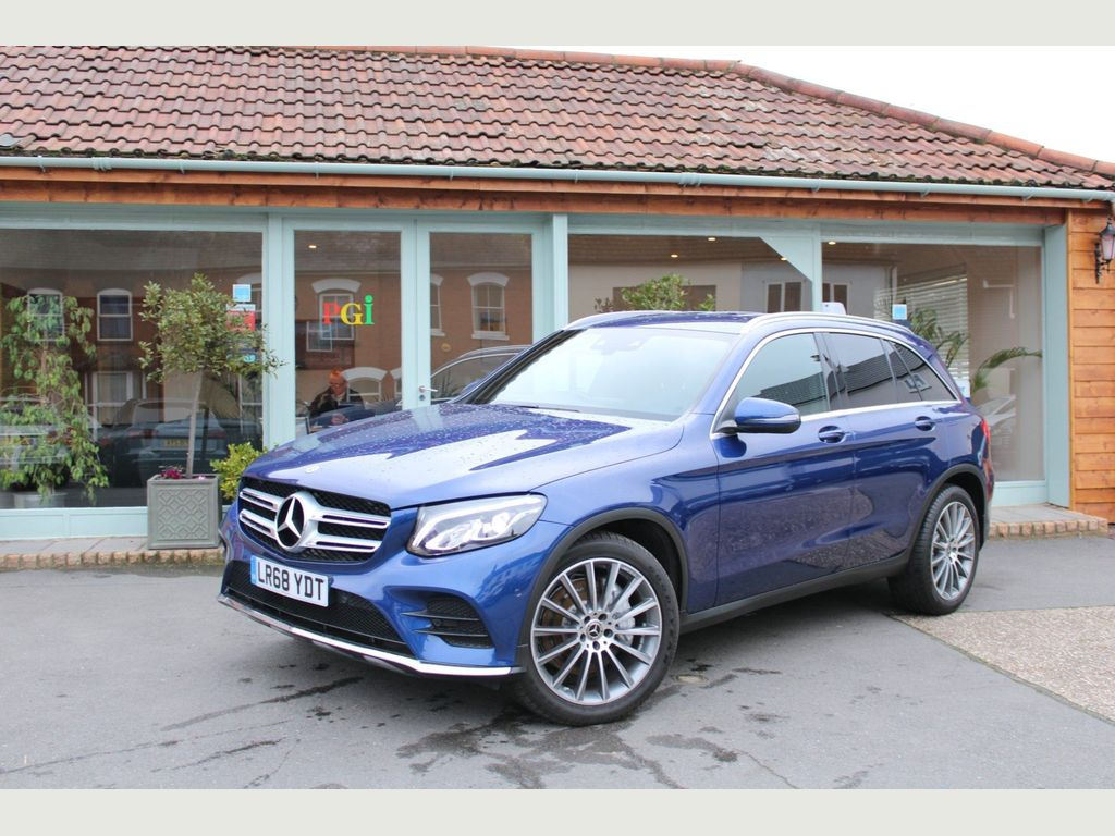 Mercedes-Benz GLC Class SUV 2.1 GLC250d AMG Line G-Tronic+ 4MATIC (s/s) 5dr