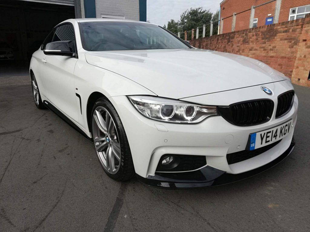 BMW 4 Series Coupe 2.0 420d M Sport (s/s) 2dr