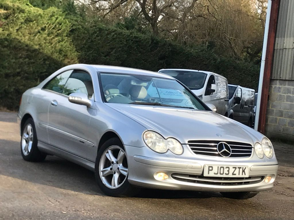 Mercedes-Benz CLK Coupe 2.6 CLK240 Avantgarde 2dr