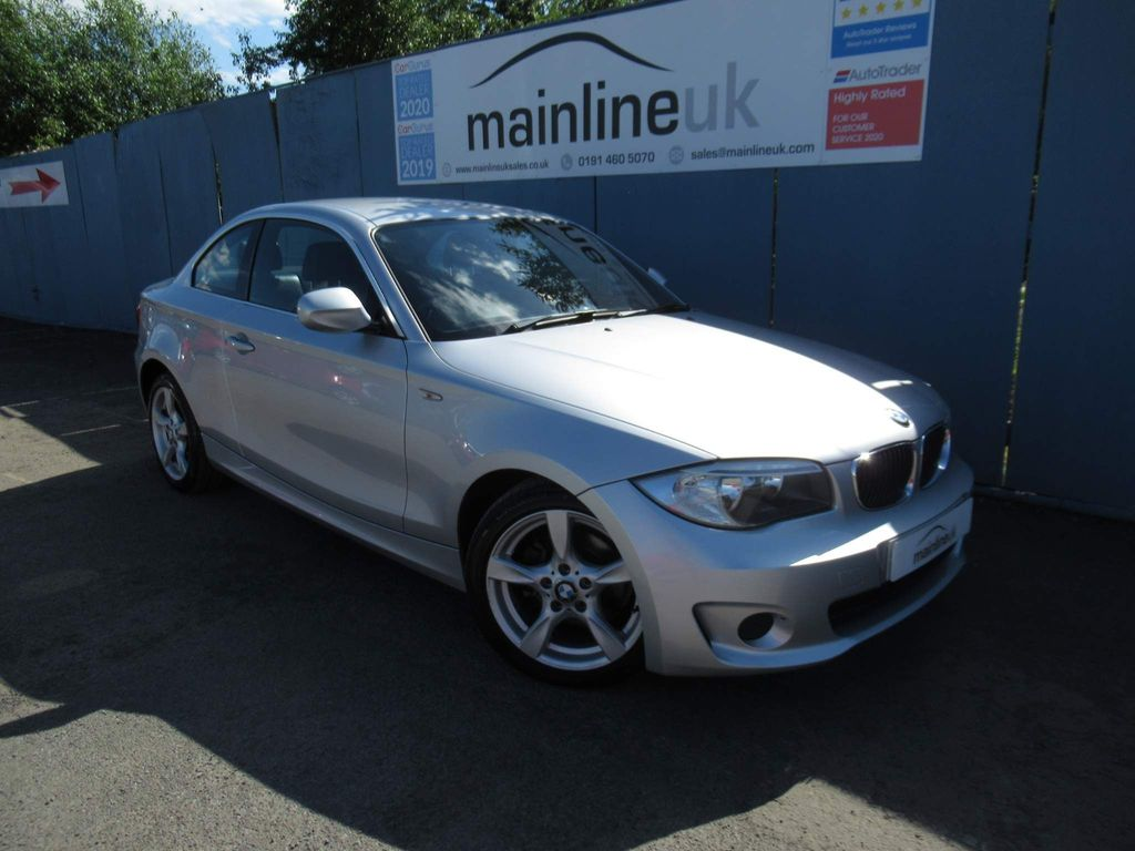 BMW 1 Series Coupe 2.0 118d Exclusive Edition 2dr