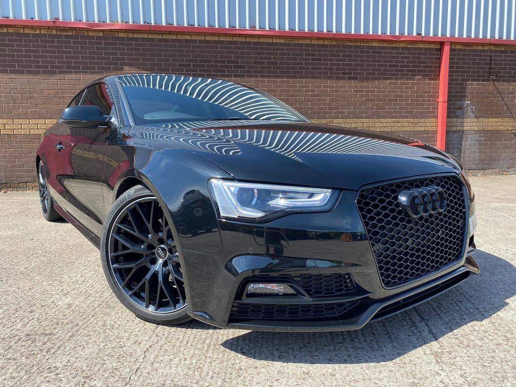 Audi A5 Coupe 2.0 TDI Black Edition Plus quattro (s/s) 2dr