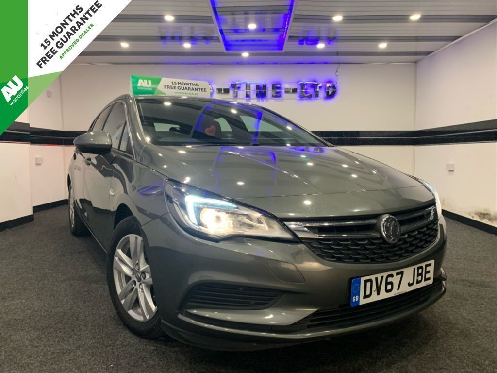 Vauxhall Astra Hatchback 1.6 CDTi ecoTEC BlueInjection Tech Line Nav (s/s) 5dr