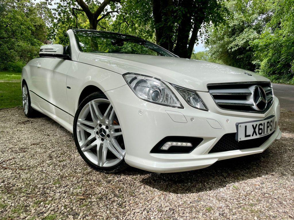 Mercedes-Benz E Class Convertible 2.1 E250 CDI BlueEFFICIENCY Sport Edition 125 Cabriolet 7G-Tronic Plus (s/s) 2dr