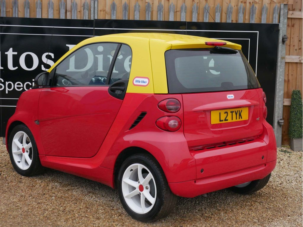Smart fortwo Coupe 0.8 CDI Pulse Softouch 2dr