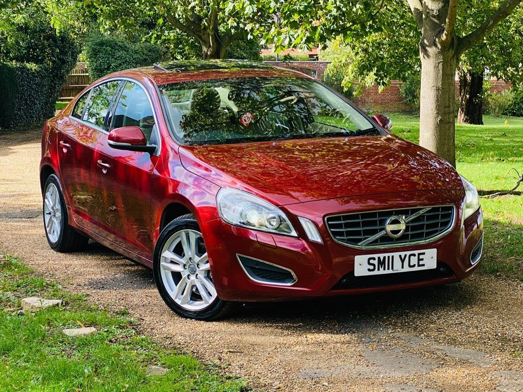 Volvo S60 Saloon 2.0 D3 SE Lux Geartronic 4dr