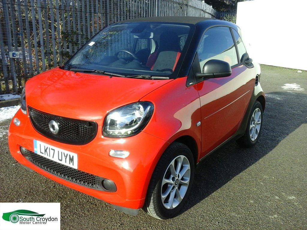 Smart fortwo Coupe 1.0 Passion (Premium) (s/s) 2dr