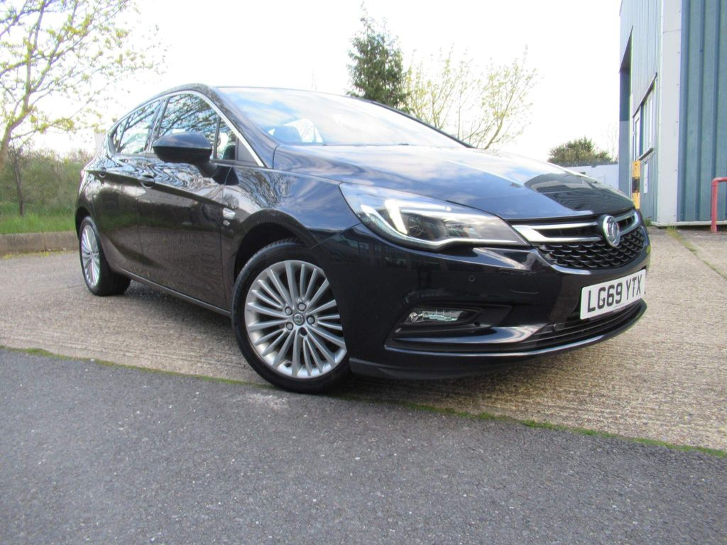 Vauxhall Astra Hatchback 1.4i Turbo Elite Nav Auto (s/s) 5dr