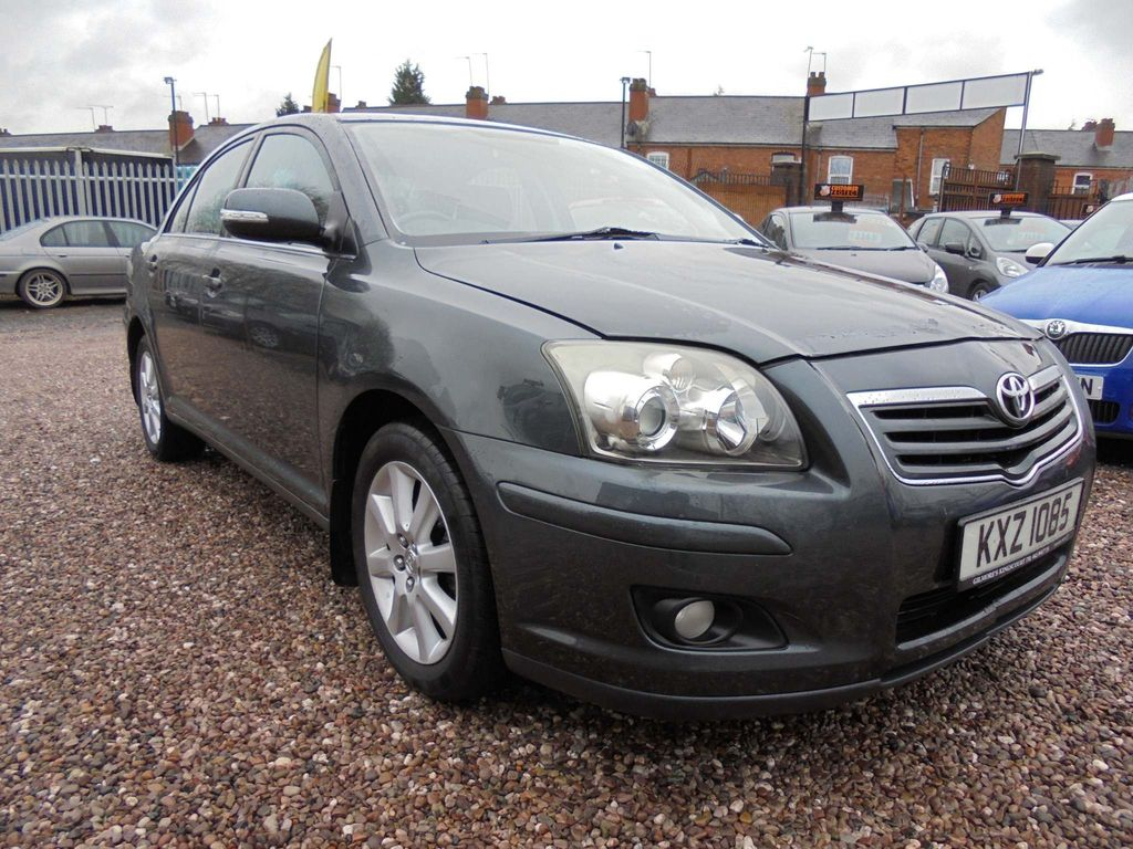 Toyota Avensis Saloon 1.6 vvti s Saloon manual 2007