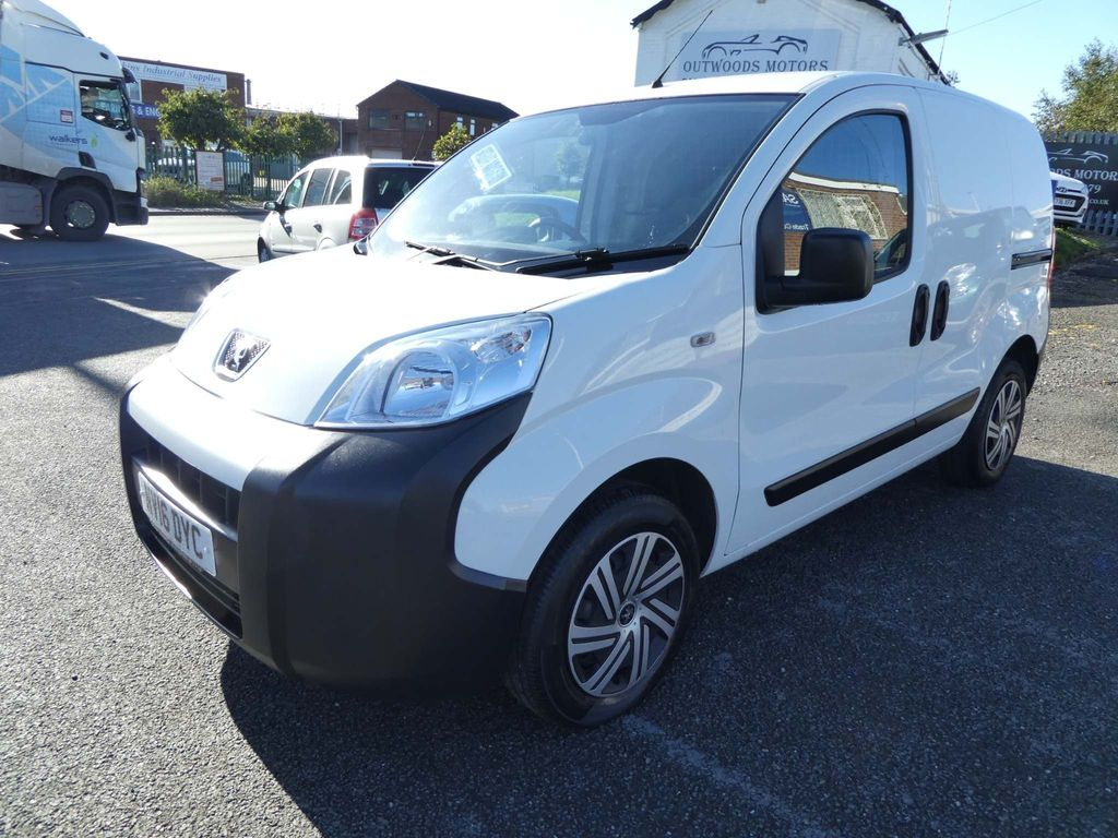 Peugeot Bipper Panel Van 1.3 HDi Professional Panel Van 3dr