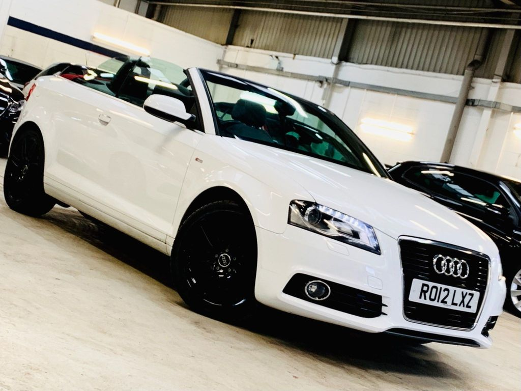 Audi A3 Cabriolet Convertible 2.0 TFSI S line Cabriolet S Tronic 2dr
