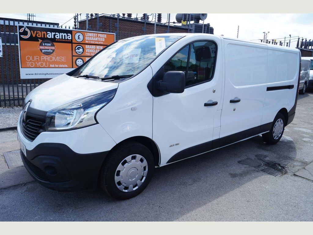 Renault Trafic Panel Van DCi 1.6 'SAT-NAV' LWB BUSINESS EDITION