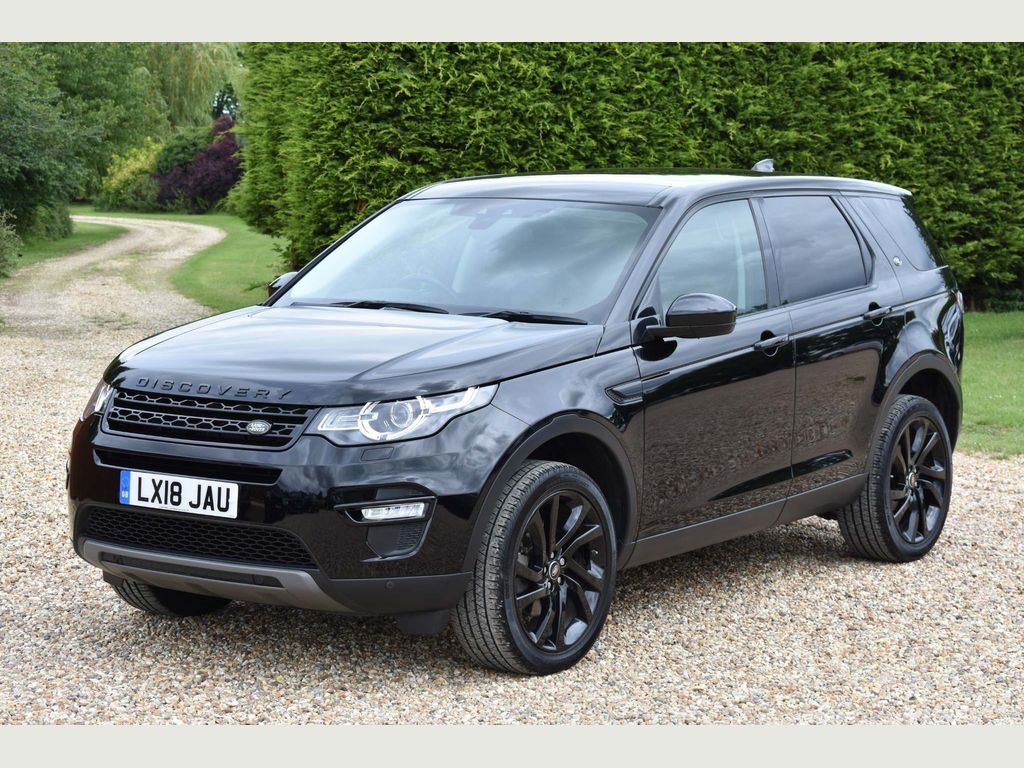 Land Rover Discovery Sport SUV 2.0 TD4 HSE Black Auto 4WD (s/s) 5dr