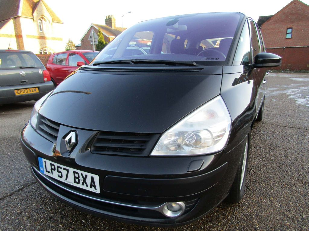 Renault Espace MPV 2.0 T PETROL 6 SPEED 7 SEATER 5 DR