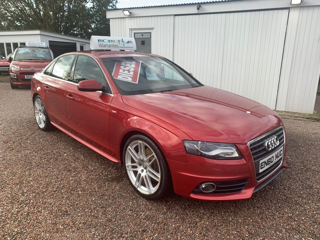 Audi A4 Saloon 2.0 TDI CR S line Special Edition 4dr