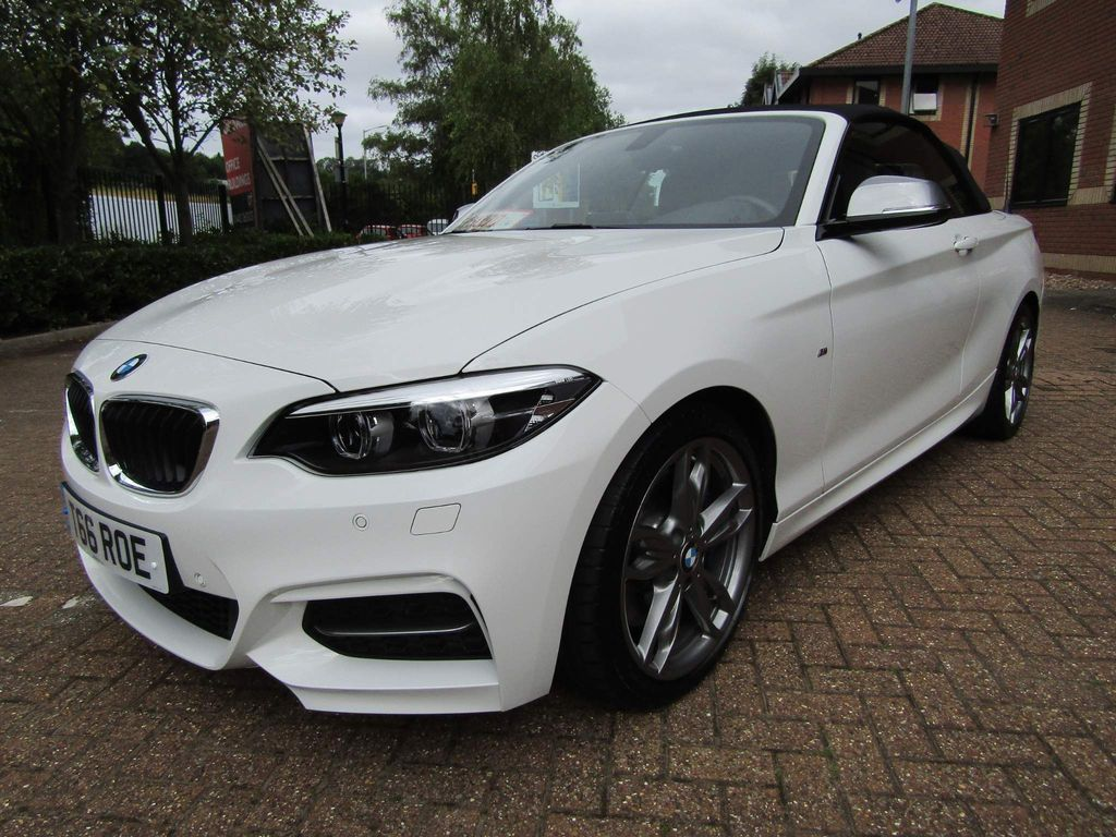BMW 2 Series Unlisted M240i 3.0 CONVERTIBLE AUTO 365 BHP 2DR