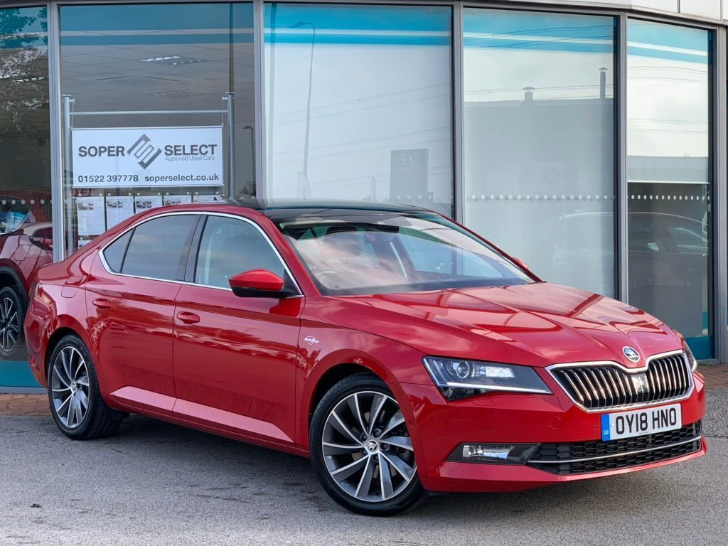 SKODA Superb Hatchback 2.0 TSI Laurin & Klement DSG (s/s) 5dr