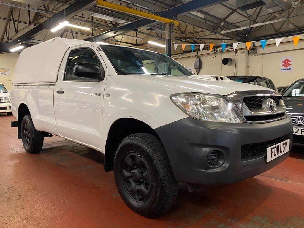 Toyota Hilux Pickup 2.5 D-4D HL2 Pickup 4WD 2dr